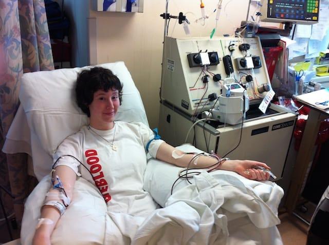 stem cell donation apheresis